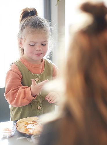 Pannenkoeken voor de kids