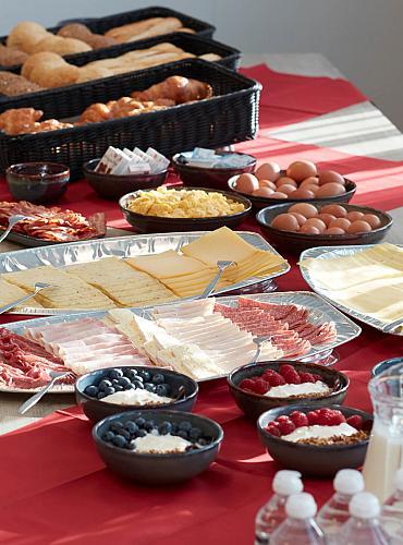 Uitgebreid buffet